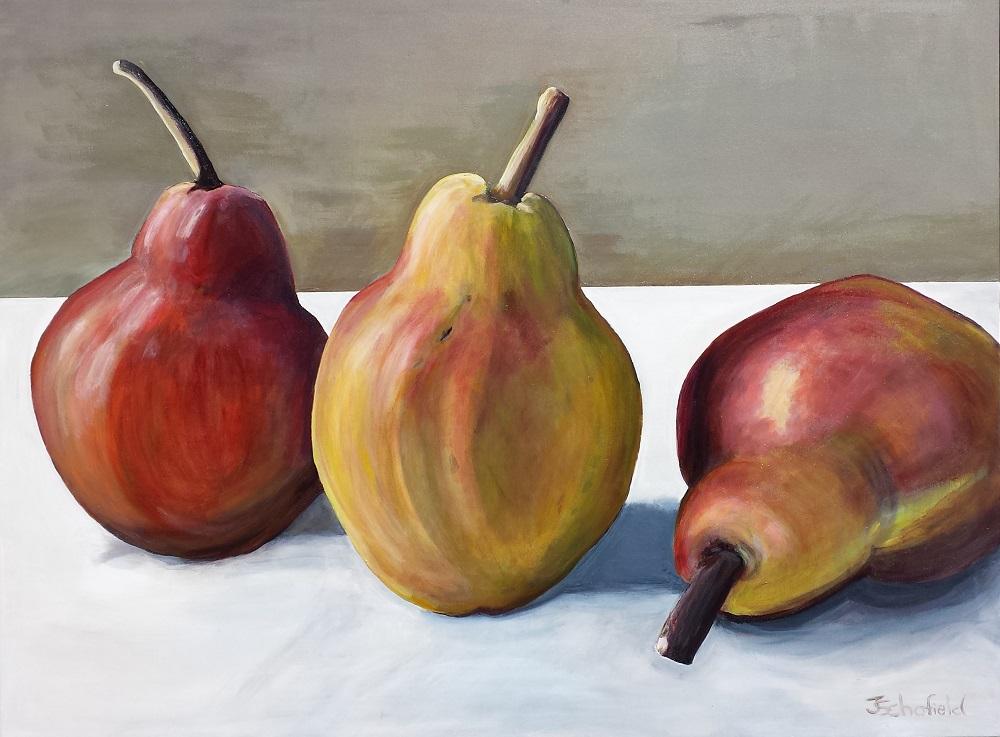 golden russet pears www.julieschofield.com.au